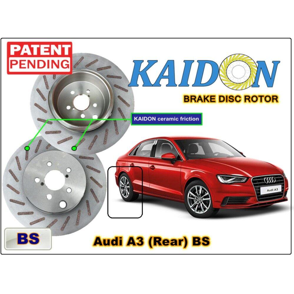 Audi A3 Brake Disc Rotor Kaidon Rear Type Bs Spec