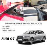 Broz Audi Q7 Samurai Carbon Rear Top Windscreen OEM Glass Spoiler (3.5cm)