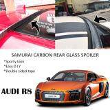 Broz Audi R8 Samurai Carbon Rear Top Windscreen OEM Glass Spoiler (3.5cm)