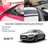 Broz Audi TT Samurai Carbon Rear Top Windscreen OEM Glass Spoiler (3.5cm)