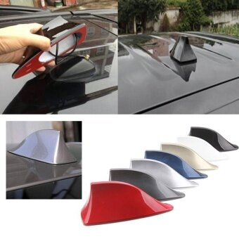Review Auto Car Top Roof Signal Decoration Shark Fin Shape