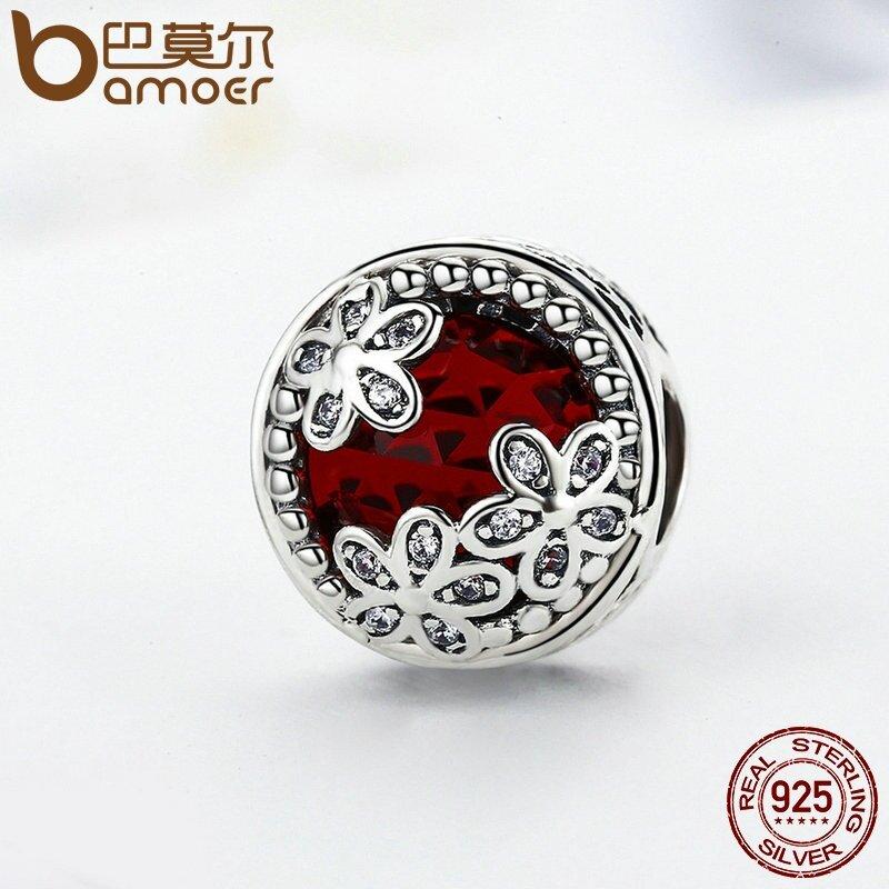 Jual Bamoer Otentik 925 Sterling Silver Radiant Daisies Charm Beads Fit Asli Charm Bracelet Fashion Diy Perhiasan Psc111 Intl Satu Set