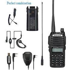 BaoFeng walkie talkie UV-82 8w High Power Dual Band Radio 136-174mhz VHF 400-520mhz UHF Amateur Ham radio Portable Two-Way radio