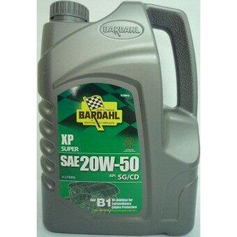Bardahl XP Super SAE 20W 50 API SG CD 4 Liters