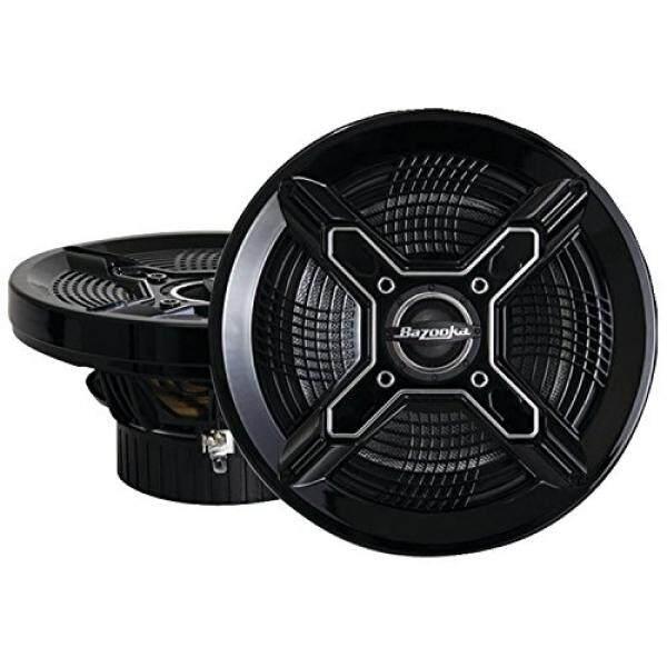 Bazooka MAC6510B 6.5-Inch Marine Coaxial Speaker, Set 2 (Hitam)-Intl