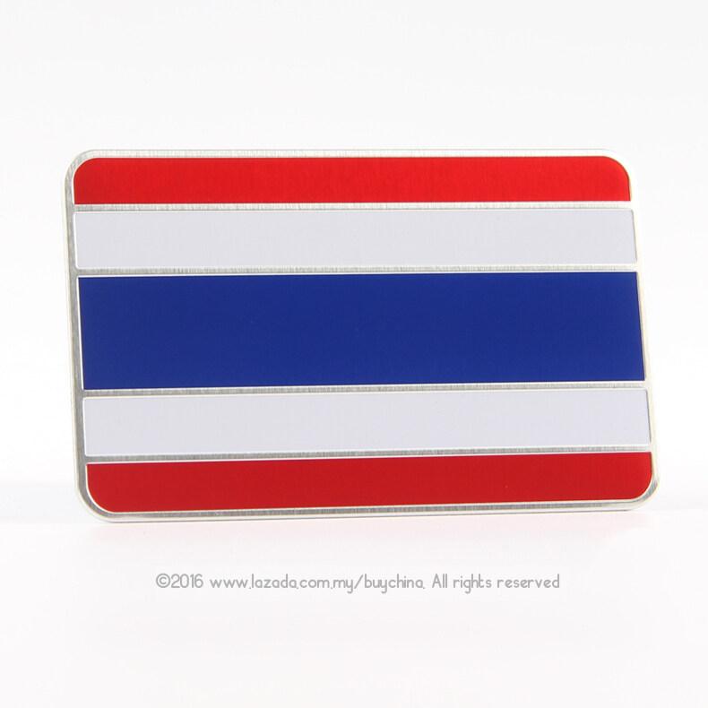 ขาย Bc 3D Alloy Metal Universal Car Decal Sticker Thailand Flag ใน จีน