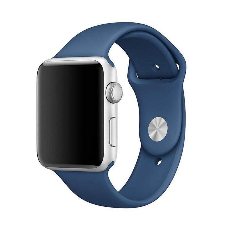 Bellamall: 42mm Rubber Straps Watch Bands Watchband Buckle Strap for Apple Watch Bracelet Malaysia