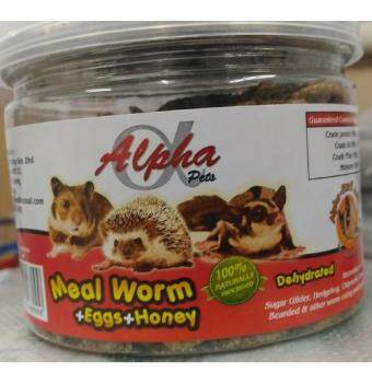 Harga BENGY HAMSTER/SUGAR GLIDER MEALY WORMS, 75G