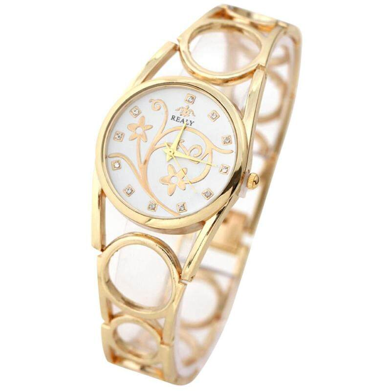 Bessky Fashion Strap Bracelet Watch Round Dial Bracelet Table Women s Watches Gold Malaysia