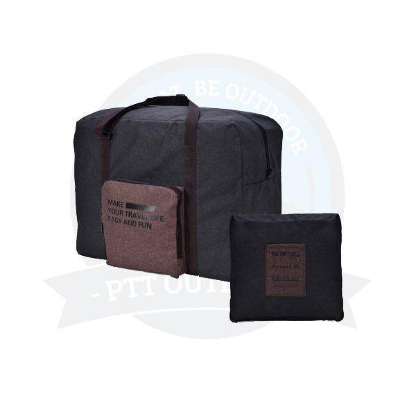 [ BEST SELLER ] Portable & Foldable Exclusive Travel Pouch Clothes Storage Bag (DARK GREY)