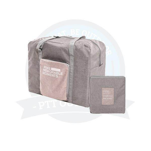 [ BEST SELLER ] Portable & Foldable Exclusive Travel Pouch Clothes Storage Bag -Grey