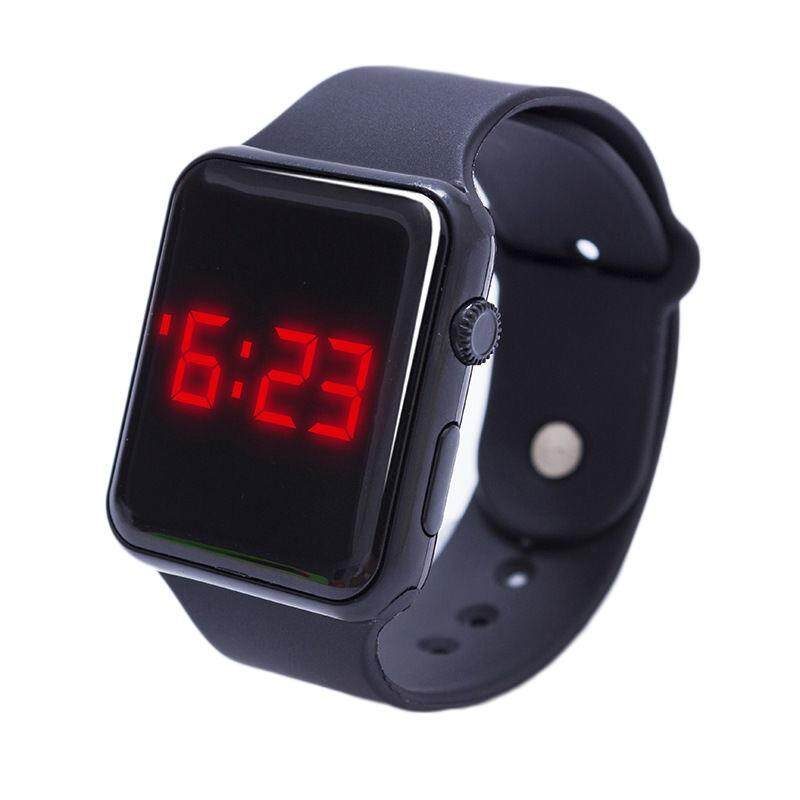 Big Family: Electronic LED Silicone Watch Bracelet Touch Screen For Children Kids Boys Girls Malaysia