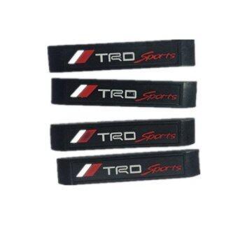 Black Label Stylish Car Door Scratch Guard/Protector - TRD Sport Design