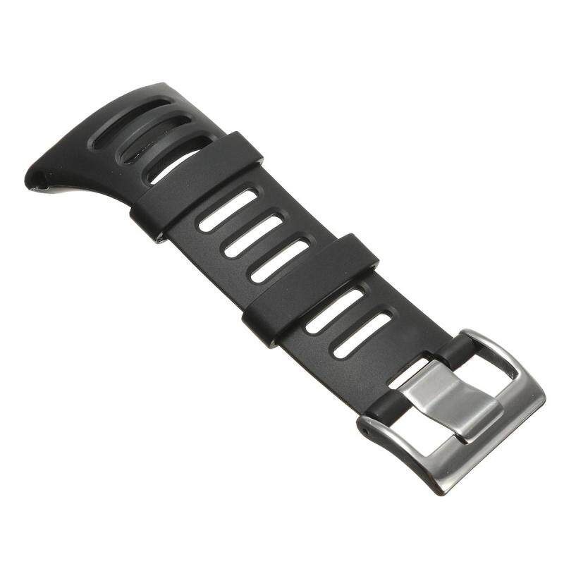 Black Soft Watch Strap Band For Suunto Ambit 1 2 2R 2S Ambit 3 SPORT SS019474000 Malaysia