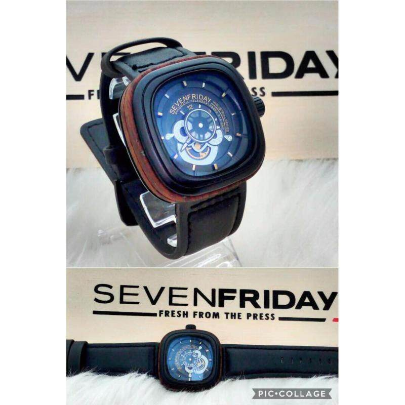 [BLACK WITH BROWN] SevenFriday Automatic Mechanical (P-Series) Malaysia