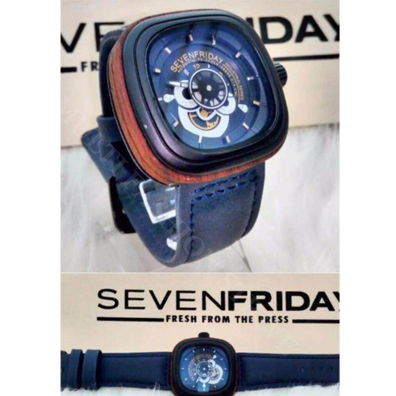 [BLACK WITH GOLD] SevenFriday Automatic Mechanical Malaysia