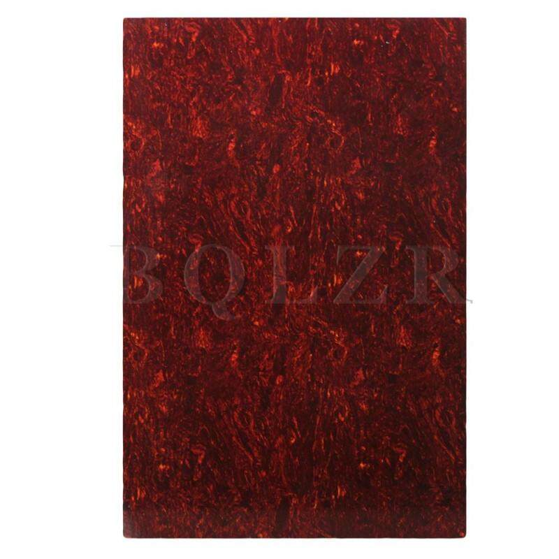 Blank 29cm x 43cm scratch plate pick guard sheets Red Malaysia