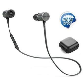 """""""Bluetooth Headphones, Mijiaer Wireless Sport Earphones Bluetooth 4.1 Magnetic IPX5 Waterproof Headset 8 Hours. """""""