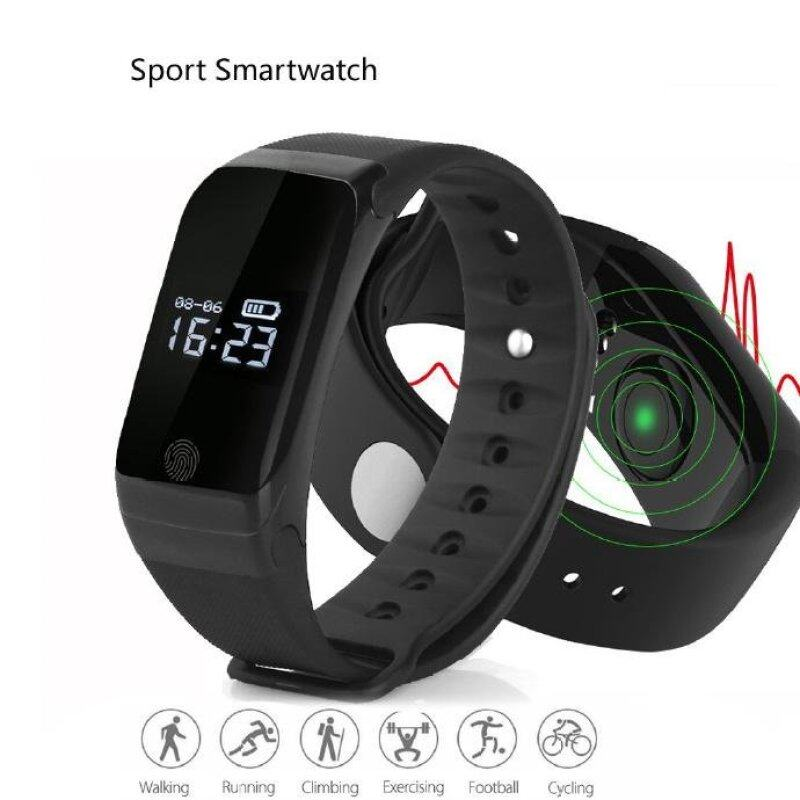 Bluetooth Sport Smart Watch Waterproof Smartwatch Heart Rate Monitor Smart Band Swim Bracelet for Android IOS PK ID107 Malaysia