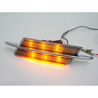 Harga BMW M-Sport Design Smoked Lens Chrome Fender Side Marker Lamps(Amber LED)
