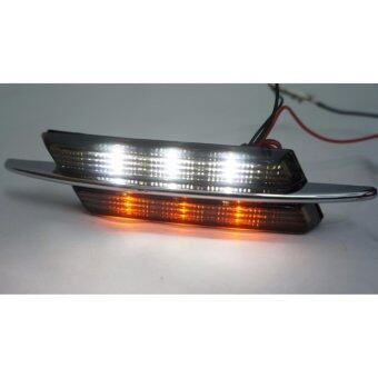 Harga BMW M-Sport Design Smoked Lens Chrome Fender Side Marker Lamps(White+Amber LED)