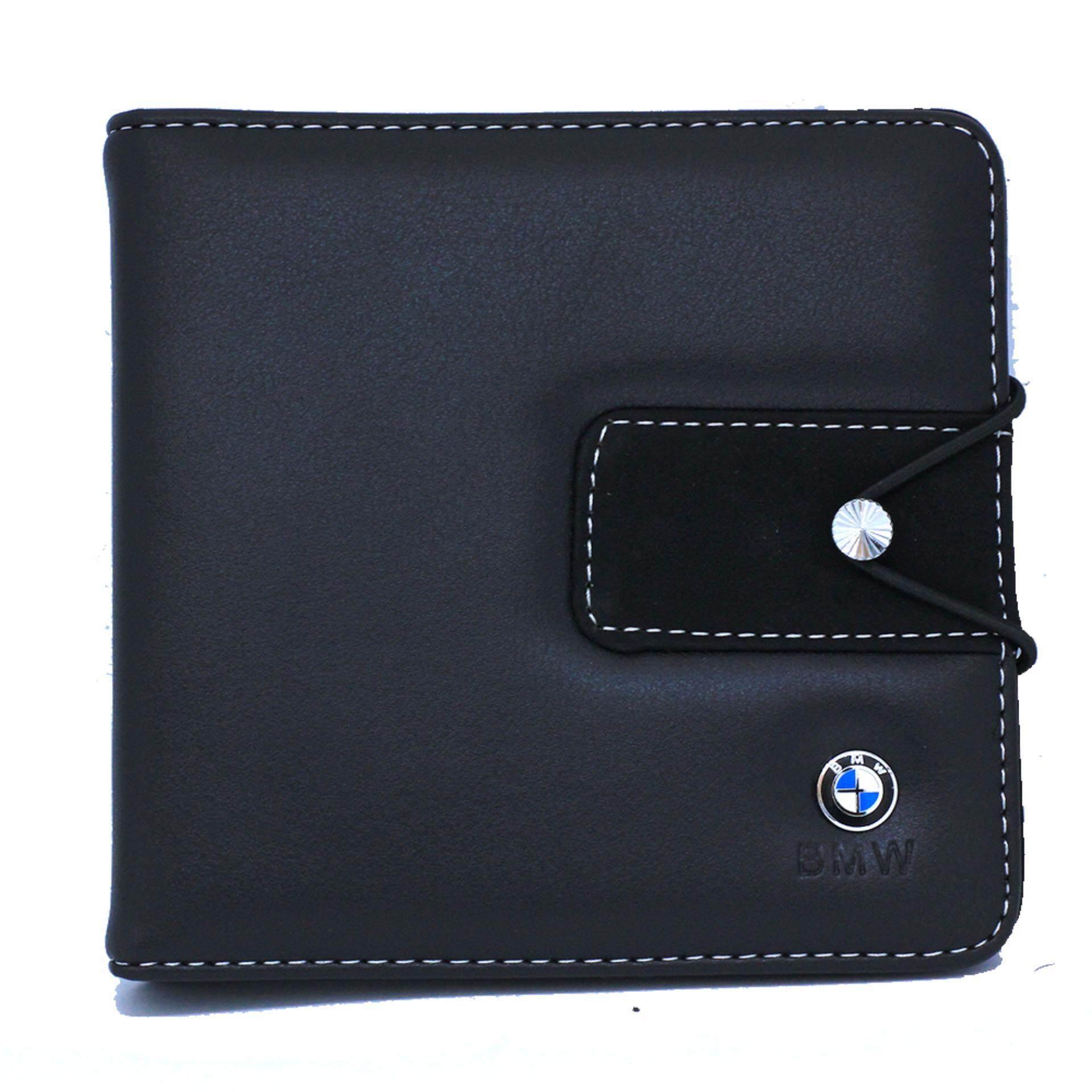 BMW Premium Leather CD Holder Case Square