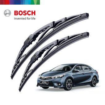 "Bosch Advantage BA2416 Wiper Blade Set 24\"" + 16\"" Toyota Altis Proton Exora Perodua Alza Preve"