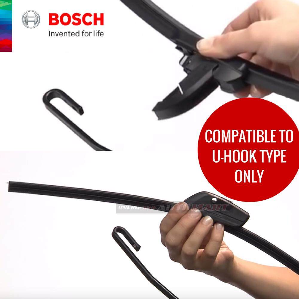 Bosch Clear Advantage Wiper 14 (Black)-Compatible only with U-Hook Type