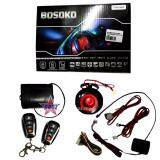 Broz Bosoko 4-Button Full Set Multi Function Car Alarm System with Shock Sensor and Siren - T193