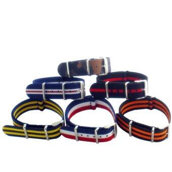 Harga Buy 1 Get 6 Twinklenorth 20mm 6 Colors Nato Strap Nylon MilitaryWatch Band Strap Watchband NATO-016