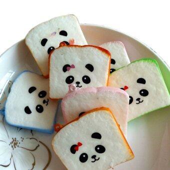Buytra Mini Random Squishy Soft Panda/Bread/Donut/Buns/Macaroon Phone Straps