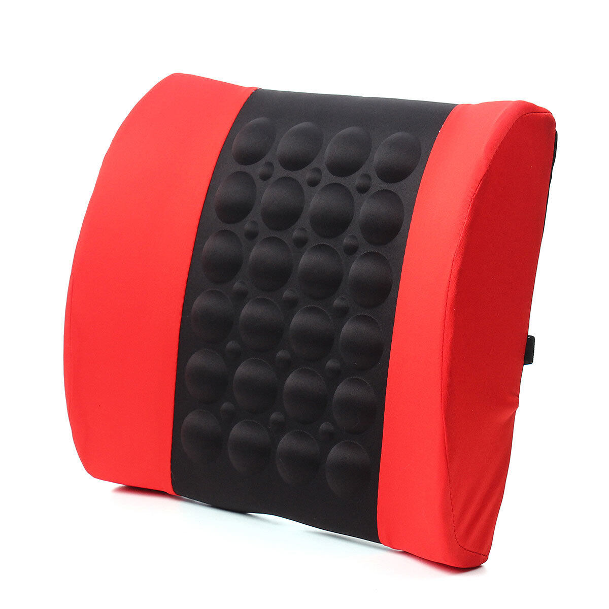 Car back lumbar posture support electrical massage cushion pillow 12v van red lazada malaysia