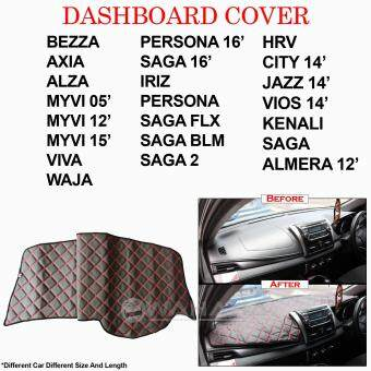 Harga Car Dashboard Cover Dash Mat for PERODUA ALZA