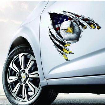American Eagle Flag Rear Window Graphic Decal Truck Suv
