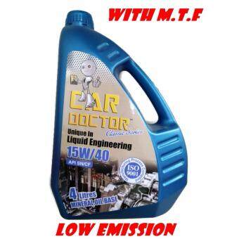 Harga CAR DOCTOR MINERAL BASE 15W/40 4 LITER WITH M.T.F