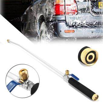 Car High Pressure Power Washer Spray Doul Nozzle Water Hose Wand Attachment  Deck