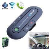 Broz Car Kit Bluetooth Hands-free Wireless Speaker Phone Slim Magnetic Hands Free In Car Kit Visor (Black)