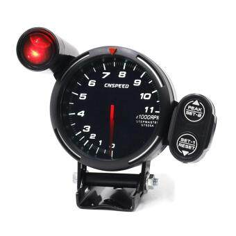 Review Car Rpm Tachometer Gauge With Warning Auto Gauge Car