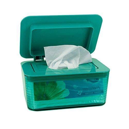 Car Tissue Box Green