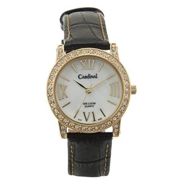 Kardinal Crystal Boutique QUARTZ Analog Watch/Kristal Swarovski-Intl