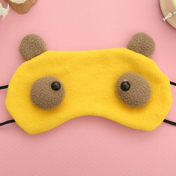 Cartoon Monster Children Eye Mask Cover Blinder Sleep Aid Relax - intl
