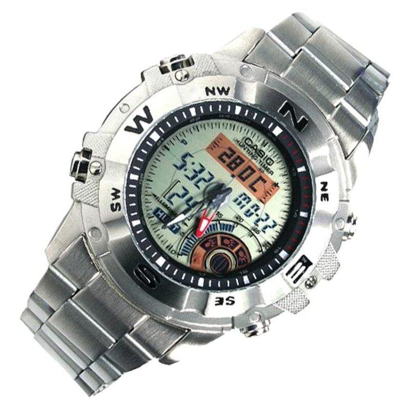 Casio AMW-704D-7A Hunting Timer Thermometer World time Moon data Watch Malaysia