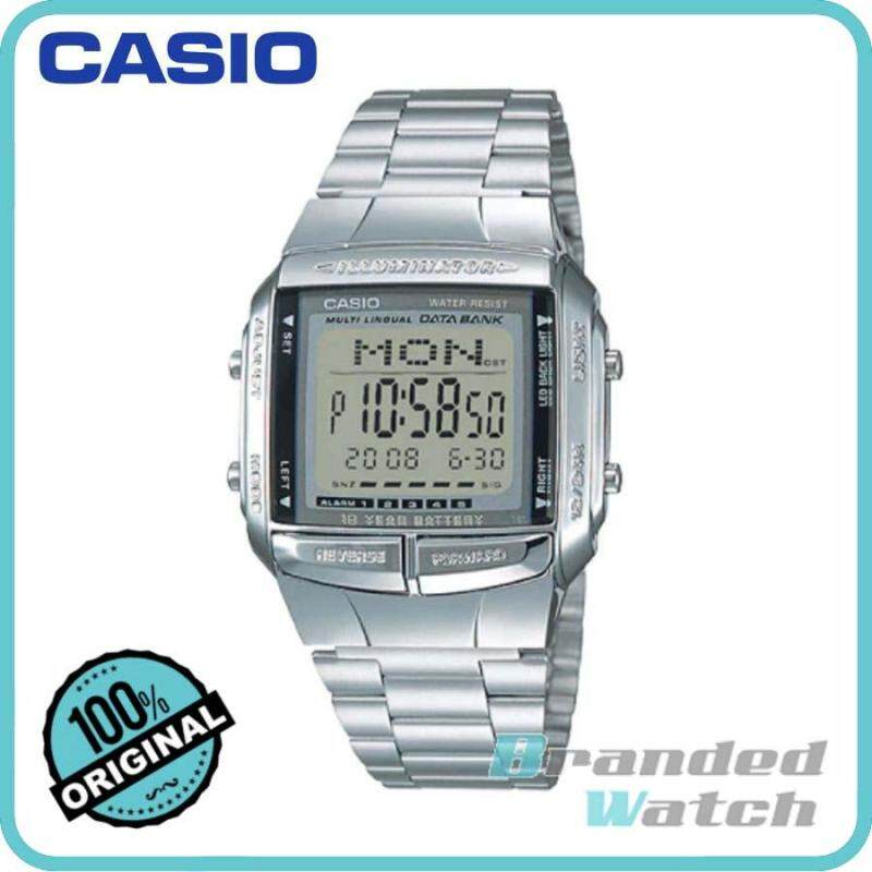 Casio DB-360-1ASDF Unisex Data Bank 10 Years Battery Digital Steel Watch DB-360-1A Malaysia