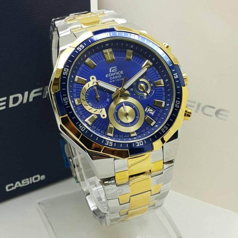Casio Edifice 554 Standard Steel Series Men Watch Malaysia