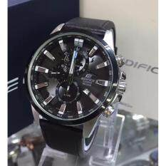 Casio Edifice Gred Premium High Quality With Box 303 Leather