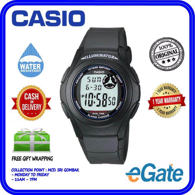 Casio F-200W-1A Digital Watch - Classic Simple Young Design Original Malaysia