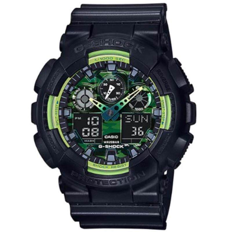 Casio G-Shock GA-100LY-1A Special Color Series Ana-Digital Watch Malaysia