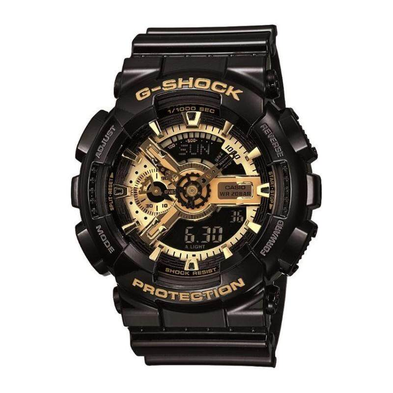 Casio G-shock GA-110GB-1AHDR Black Gold Sports Men Watch Malaysia