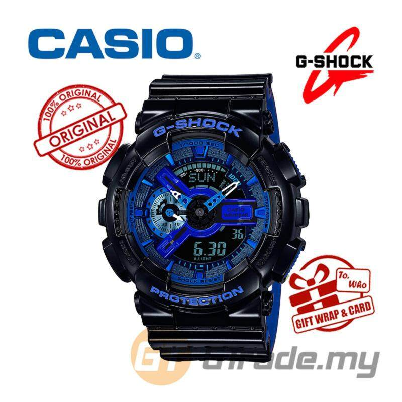 CASIO G-SHOCK GA-110LPA-1A Watch | Punching Pattern Series Malaysia