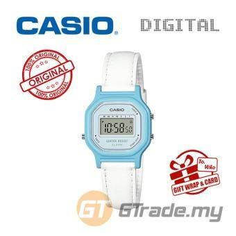 CASIO Kids Ladies LA-11WL-2A Digital Watch | Small Cute PetitLeather